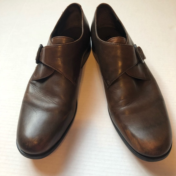 ad139eb3e6dd Born Other - Men s Born Brown Buckle Dress Shoe Size 11.5
